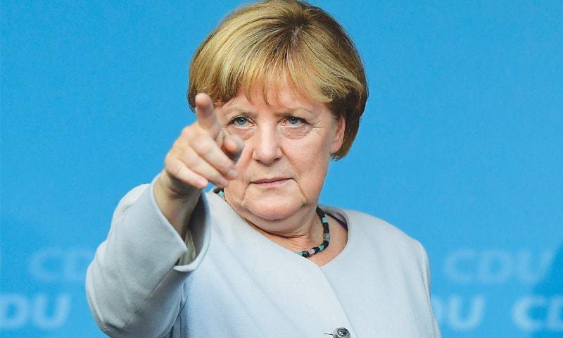 默克尔:德国不会参与对叙利亚可能的军事行动