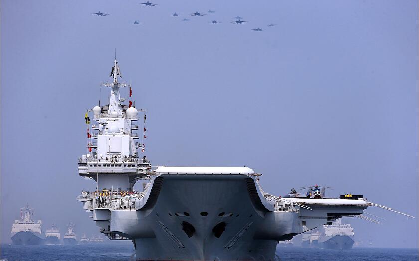 专家:中国海上大阅兵标志美军深入亚太战略梦的破灭