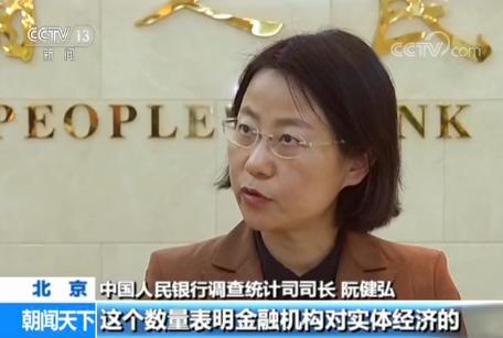 中国人民银行:一季度金融对实体经济支持增强