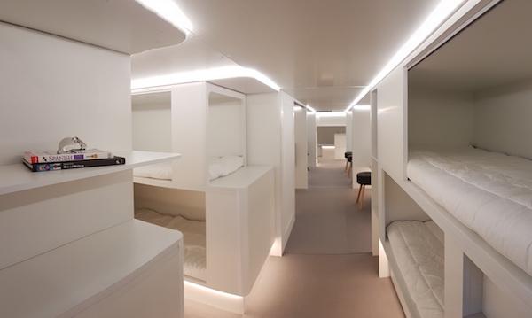 飞机上也要有卧铺了!