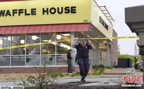 美田纳西州发生枪击案 白人枪手餐厅滥杀致4死7伤