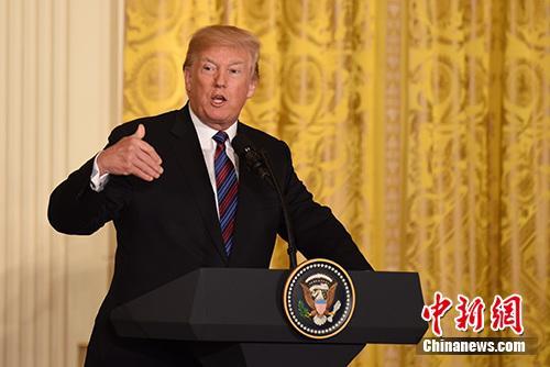 特朗普称美朝领导人会晤可能延期举行