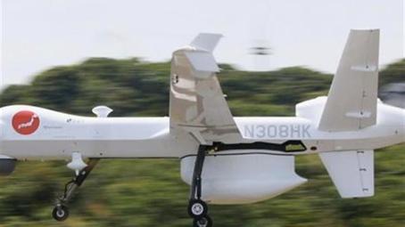 美大型监视无人机在日测试 更换部件即可发射导弹