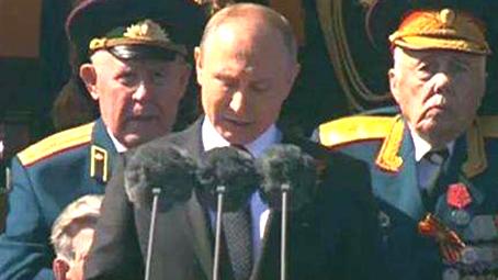 普京说新武器系统独一无二 可保国家数十年平安