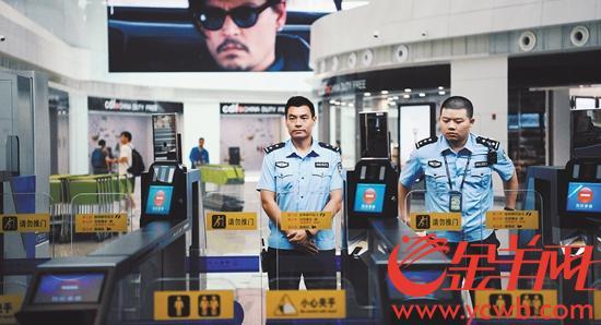 广州白云机场T2全面投入使用 国际航空枢纽现雏形