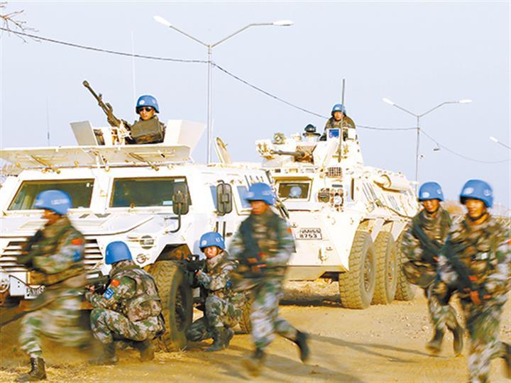 致敬!中国蓝盔,国际维和的关键力量
