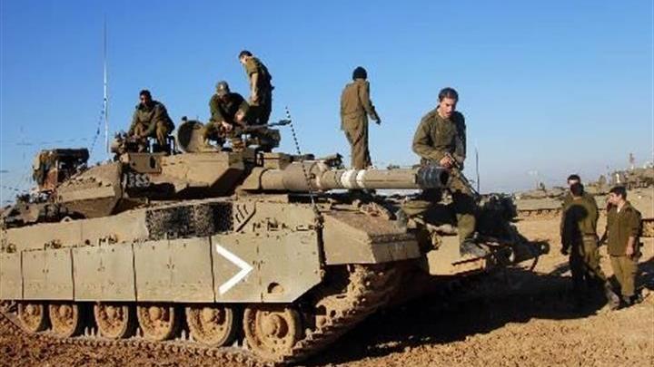 以色列军队在加沙展开军事行动