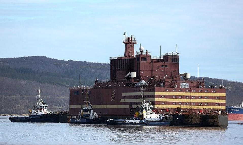 俄展示全球首个移动核电站 被批核能泰坦尼克号