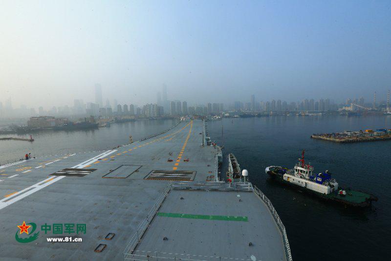 专家:中国航母主要任务不是直接对抗美国航母