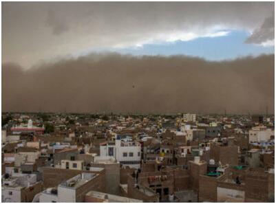 印度罕见沙尘暴已致127人死亡 西部北部成重灾区