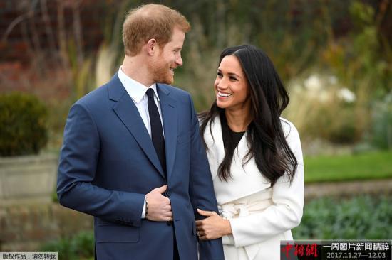 英王室大出血 自掏腰包10万英镑为准王妃定制婚纱