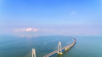 奔腾珠海:从拱北口岸到港珠澳大桥