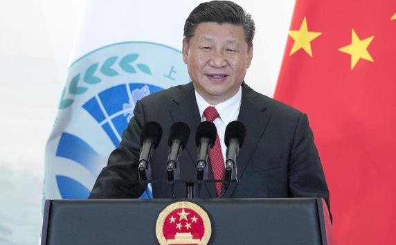 习近平出席上海合作组织青岛峰会欢迎宴会并致祝酒辞