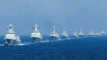 中国海军第二十八批护航编队访问喀麦隆