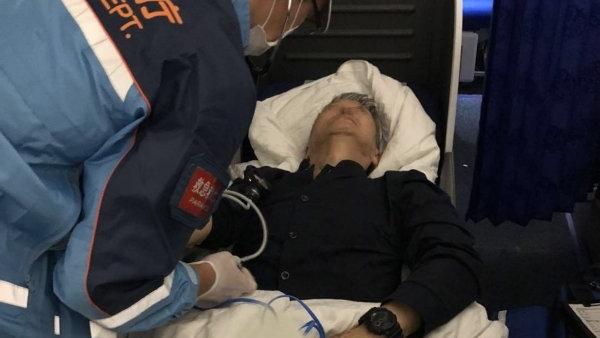 旅客高空中突然吐血 东航航班紧急备降东京机场