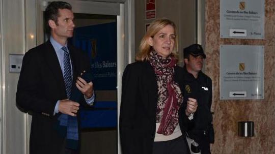 涉嫌金融欺诈 西班牙公主的丈夫被判70个月监禁