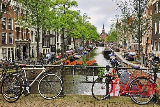 荷兰政府环保新构想:骑车上班可享受交通补助