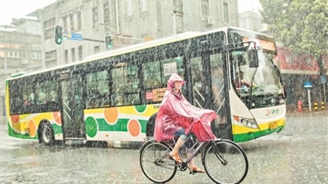 今明雨势减弱 周六雨势加大