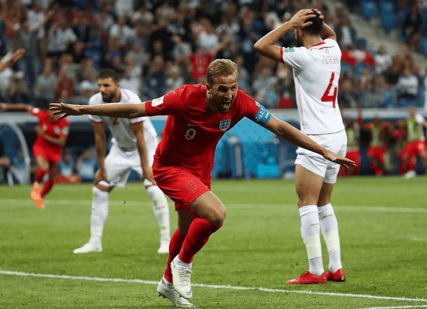 """凯恩率""""三狮军团""""艰难战胜突尼斯 英格兰取世界杯开门红"""