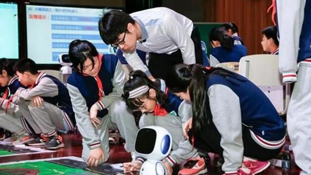 人工智能课程首次进入幼儿园