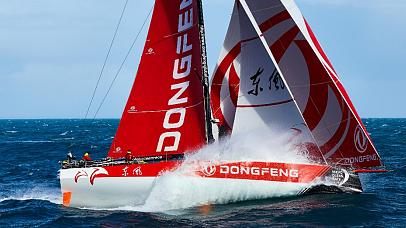 东风队成首支夺得沃尔沃环球帆船赛总冠军的中国船队