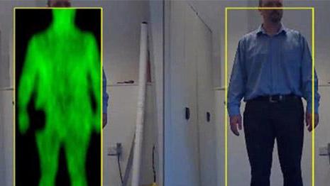 不接触人体即可成像!民用机场沿用26年的安检金属门将被取代