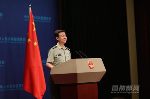 疑似中国第三艘航母照片曝光 国防部回应