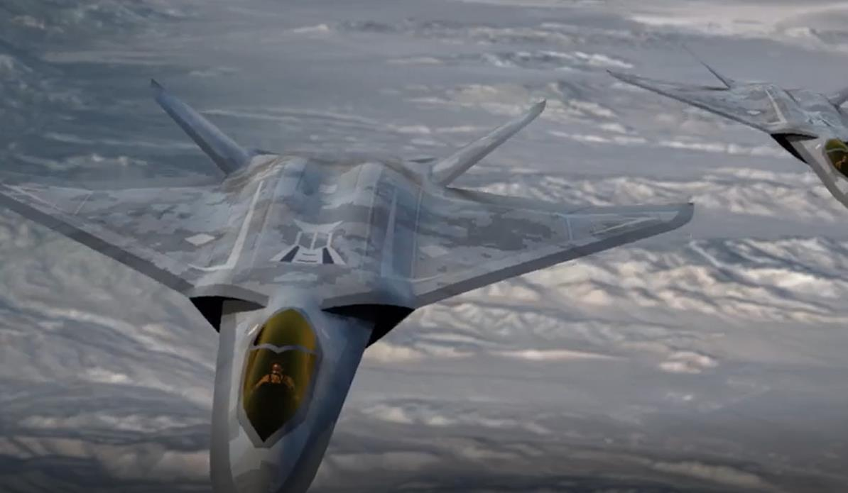 追求极致:洛马最新六代机方案出现,阻力舵取代垂尾