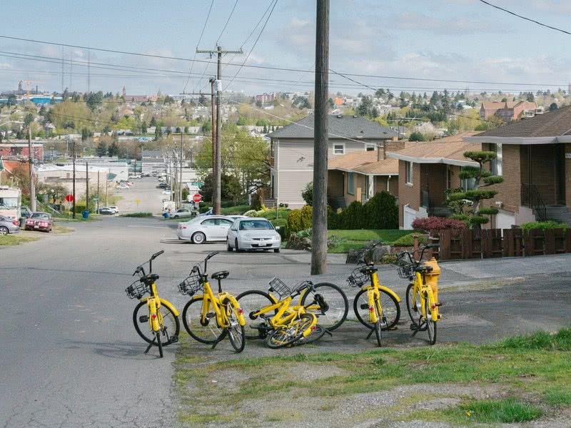"""西雅图正在驯服""""野蛮""""的共享单车"""