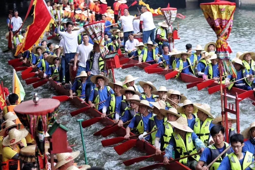 广州最有钱的村民:没有亿万身家别想划船