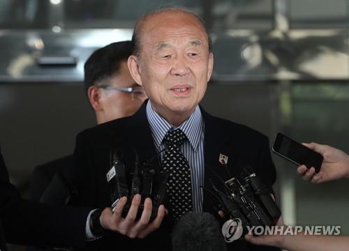 韩朝红十字会会谈韩方代表团启程 将商离散家属问题