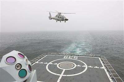 """战舰,驶向""""诡谲""""海域"""