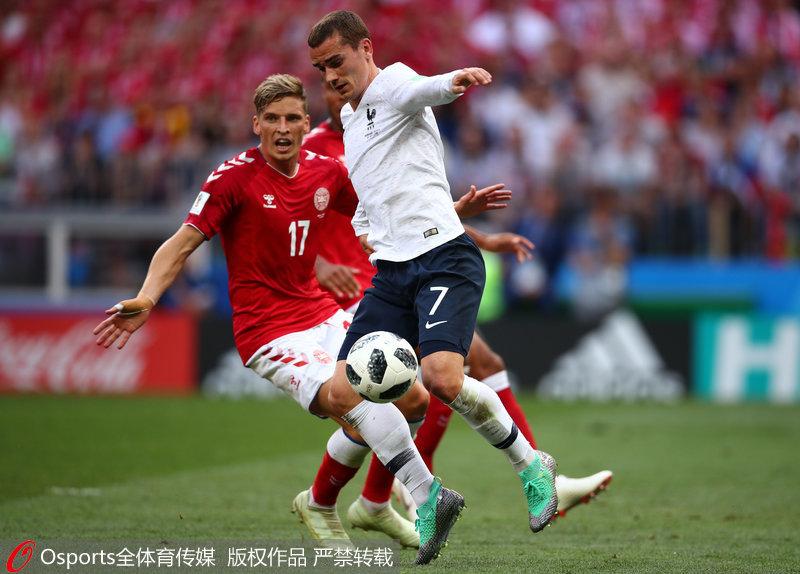 分享到  和气生财 法国0-0丹麦双方上演默契球