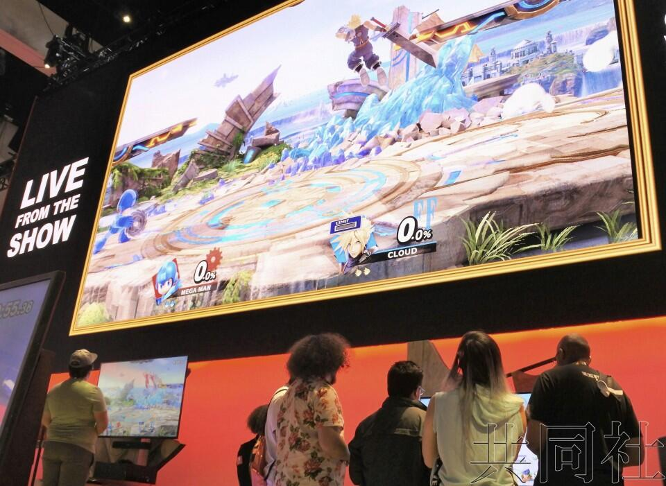 全球最大游戏展E3在美开幕 预计吸引逾6万人参观