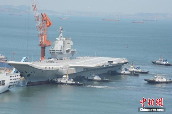 航母工程总指挥:国产航母提前首航 各项试验成功