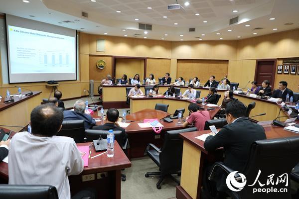 """中泰举行""""水资源开发与可持续发展""""研讨会"""
