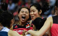 世界女排联赛总决赛中国队获得季军
