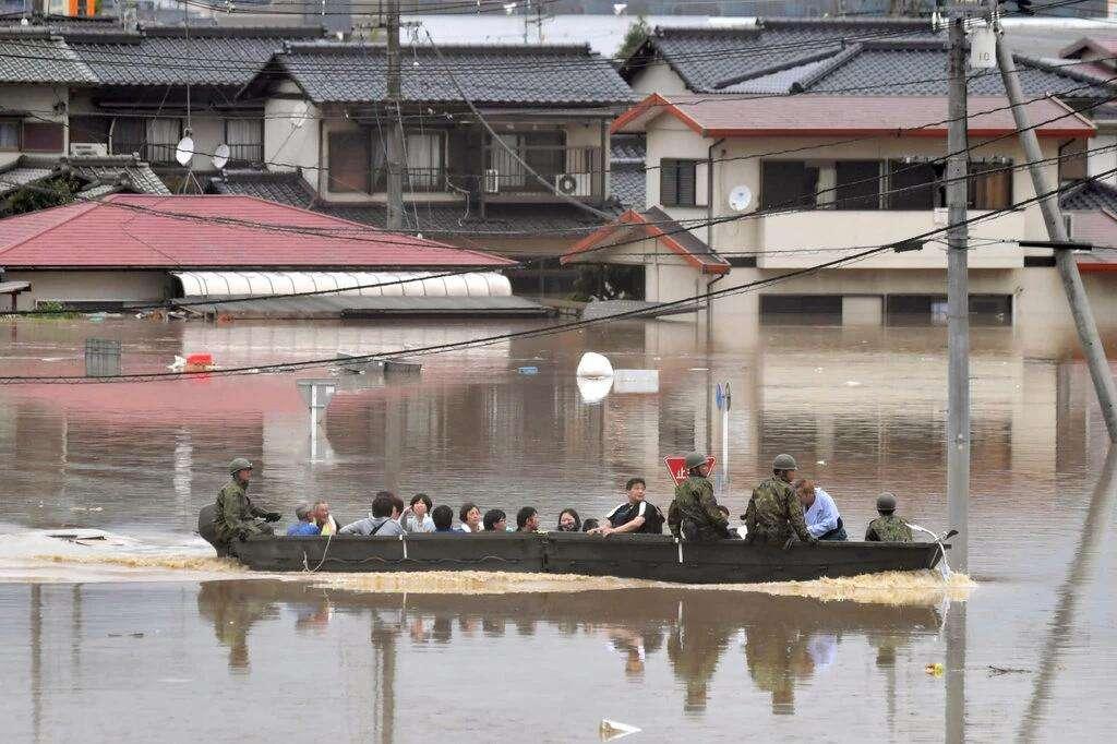 日本暴雨致死人数升至126人 仍有数十人下落不明