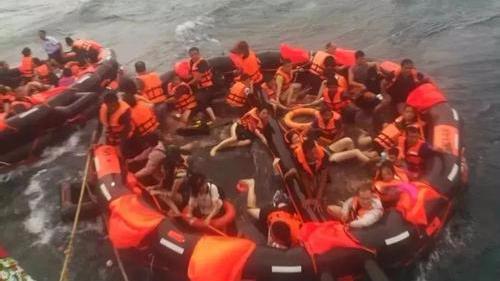 普吉游船倾覆事故确认41名中国公民遇难6人失联