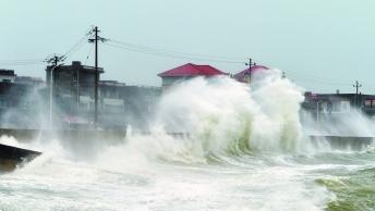 """强台风""""玛莉亚""""登陆福建 广东省旅游局发布提醒"""