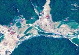 触目惊心!日本西部暴雨灾害前后卫星图像公布