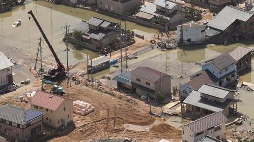 西日本暴雨死亡人数上升至195人 6700人疏散避难
