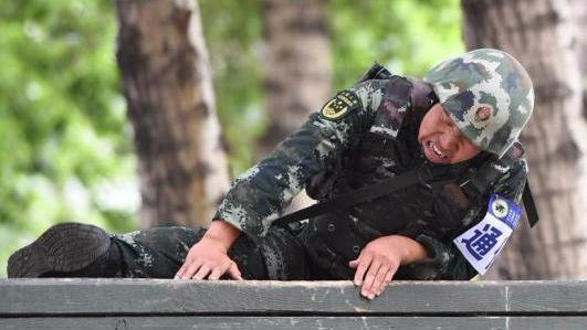 新成立的武警某部:由10多个不同类型单位调整组建