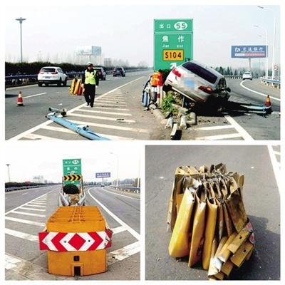 """高速""""最危险路段"""":离出口一公里"""