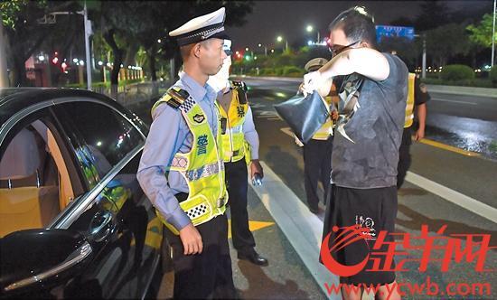 世界杯期间 广州查获涉酒交通违法行为1655宗