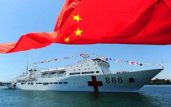 """澳媒:中国""""和平方舟""""医疗船在太平洋赢得民心"""