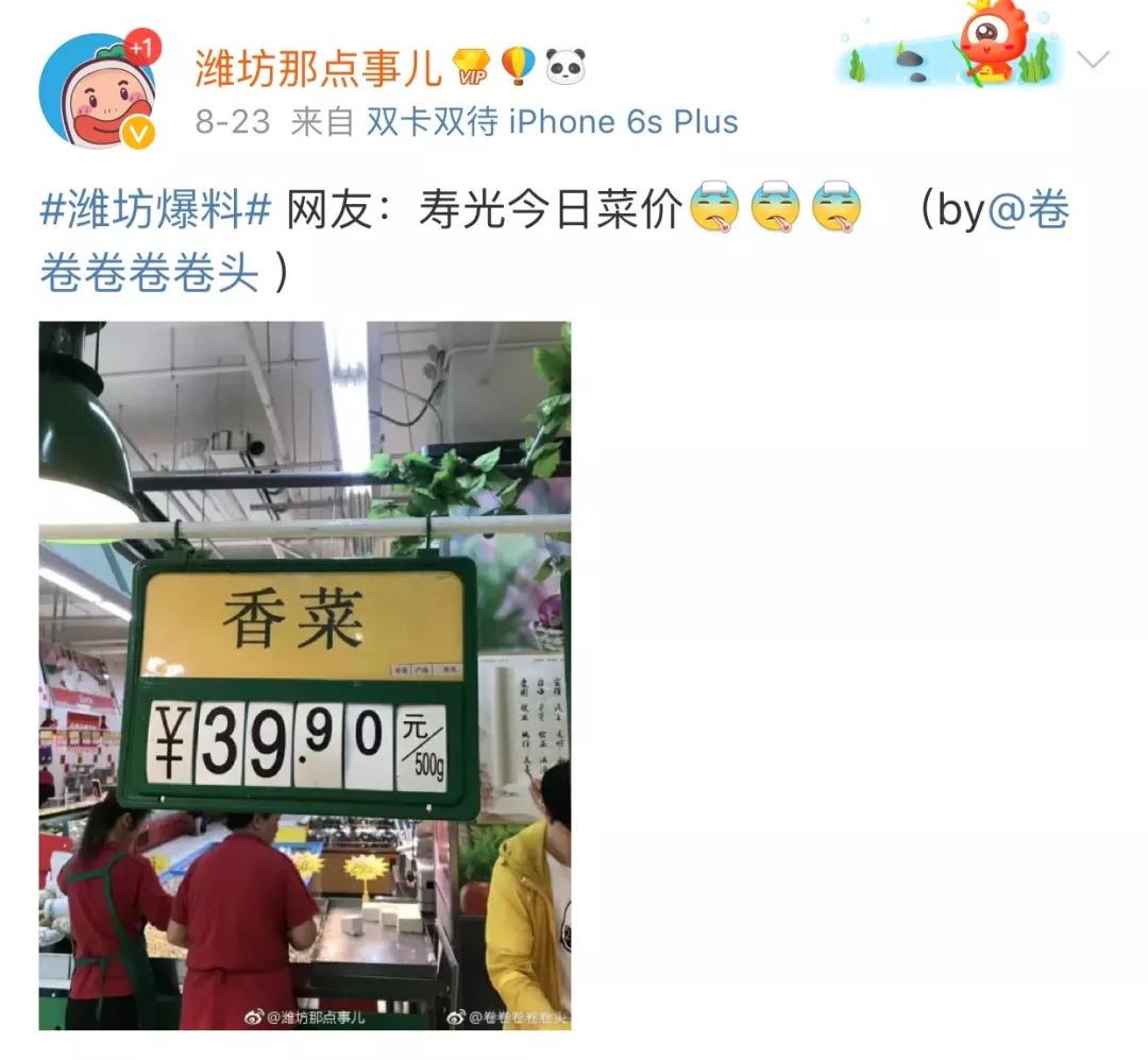 香菜40元一斤简直吃不起!全国菜价都在涨,究竟发生了什么?