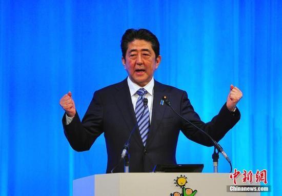 安倍宣布参选自民党总裁 将与石破就宪法第九条论战