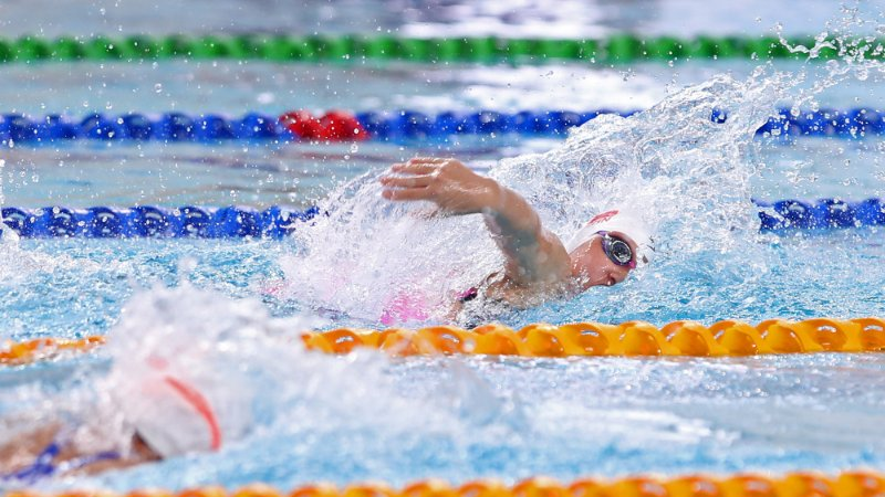 【省运会】广州体育代表团在游泳及柔道项目获奖牌丰收