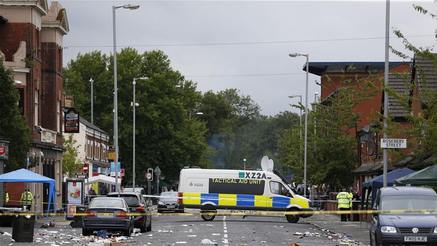英国曼彻斯特发生枪击事件10人受伤